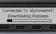 Auto Podcast downloader en speler