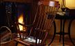 Een antieke schommelstoel Refinish
