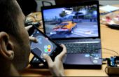 GamePad met Android mobiele sensoren en Arduino