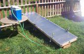 Bouwen van uw eigen thermische zonnecollector voor flat-panel
