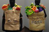 Grocery Bag van Muppet Fruit en groenten kostuum