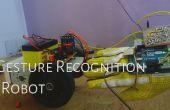 Hand gebaar Controlled robot