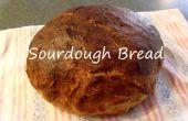 Zuurdesem brood van een Starter
