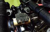 Fiets stam adapter voor stuurhouder van de computer met behulp van een wijn kurk