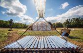 Solar-OSE: Solar concentrator voor stoom generatie