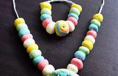 Zelfgemaakte snoep sieraden voor Kids
