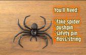 Hoe te trekken uit de spin via de deur prank!