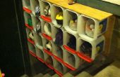 Kitty Litter emmer opslag Shelve