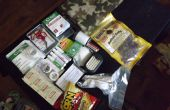Zelfgemaakte.. .off weg... Eerste hulp kit / Survival kits