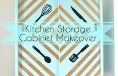 Keuken opslag kabinet Makeover!
