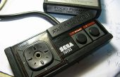 Retro Atari 7800 Mod: Sega Master System controller voor Atari 2600/7800 kappen