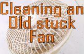 Onderhoud van een oude Fan.