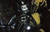 Aliens - leven grootte buitenaardse strijder, eieren en facehugger van 'Vreemdelingen' Halloween 2012