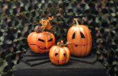 Animatronic zingen Pumpkins