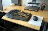 Verstelbaar toetsenbord Platform, Bureau uitbreiding
