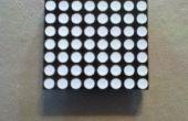 Een 8 x 8 LED matrix verbinden met een klein Breadboard