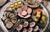 Mooie Sushi schotel