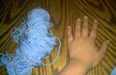 Hoe te het weven van de vinger