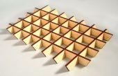 Lijm-minder elkaar grijpende laser gesneden onderdelen maken met sketchup slicemodeler