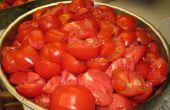 Groente sap en tomaat saus
