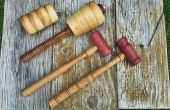 Artisan Mallets voor Leathercraft, houtbewerking en beeldhouwen