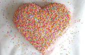 Hoe maak je een hart taart