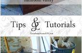 Hoe: omzetten van een dressoir in een badkamersijdelheid