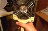 Krachtige batterij ventilator