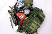 BELANGRIJKSTE Items in een bug-out-zak