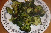 Gemakkelijk Oven geroosterde Broccoli