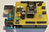 Arduino UNO nRF24L01 + Shield
