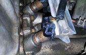 Ter vervanging van de brandstof injectoren (Honda Civic 1999-D15B)