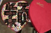 Gepersonaliseerde chocolade Heart Box