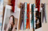 Lente in de Winter: kleding Pin Art