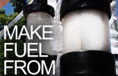 How to Convert Water in brandstof door bouw een DIY Knalgas Generator