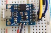 Hoe te programmeren een ATtiny 85 Digispark