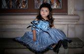 Tim Burton Alice in Wonderland blauwe theepot jurk.