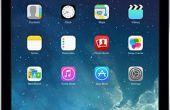 Media exporteren van iPad naar externe harde schijf