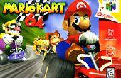 Mario Kart 64 Turbo drijven
