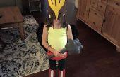 Meisje Hawkgirl kostuum