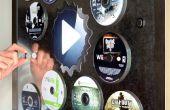 Disc Mount - winkel en Display CDs op metalen oppervlakken