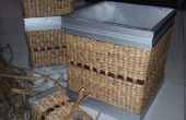 Het instellen van woonkamer met hyacint maken