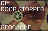 DIY deur Stopper Geocache