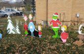 Kerst DIY multiplex werf decoraties voor de feestdagen van de Art