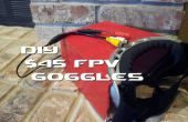 DIY $45 FPV bril voor RC Quad Copters of vliegtuigen