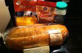 Gemakkelijk drie stap Cheddar Bacon Ranch brood