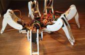 Laten we het bouwen van een handgemaakte Hexapod robot
