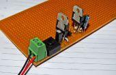Dubbel voltage voeding voor Arduino/microcontroller projecten geregeld