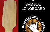 Bouwen van een Longboard bamboe