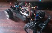 Arduino RC auto met lange afstand en aangepaste zender.